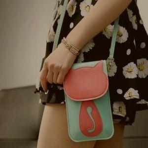 Handbags - Cat silhouette purse